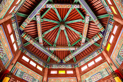 Chinese temple ceiling Stock Image