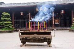 Chinese Temple. At Chengdu city, China Stock Photography