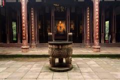 Chinese Temple. At Chengdu city, China Stock Image