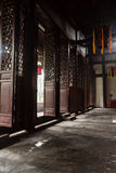 Chinese Temple. At Chengdu city, China Royalty Free Stock Photo