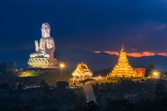 Chinese temple in Chiang Rai, Asia Thailand. Royalty Free Stock Image
