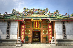 Chinese temple. China town thailand royalty free stock photos