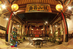 Chinese temple in China, Xiamen. Royalty Free Stock Image