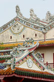Chinese Temple Chinese Church roof Stock Photo