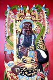 Chinese Temple Deity Stock Image
