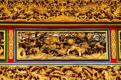 Chinese Temple Detail Royalty Free Stock Image
