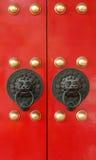Chinese temple door Stock Photos