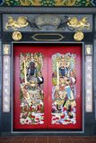 Chinese Temple Doors Royalty Free Stock Photography