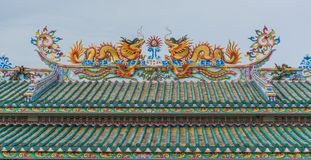 Chinese temple. Royalty Free Stock Images
