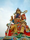 Chinese Temple: The Emperor of the Dark Heaven stock photos