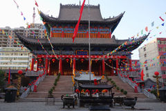 Chinese temple in Gannan Stock Images
