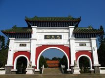 Chinese Temple Gate Royalty Free Stock Images