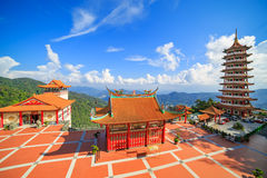 Chinese temple in Genting highland Royalty Free Stock Photos