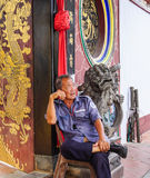 Chinese temple in George Town, Penang, Malaysia Royalty Free Stock Photo