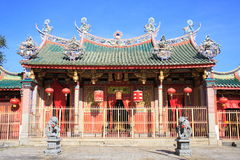 Chinese Temple In Georgetown. Penang Malaysia stock photos