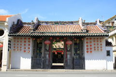 Chinese Temple In Georgetown Royalty Free Stock Photos