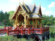 One temple. A Chinese temple in germany Stock Images