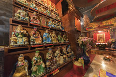 Chinese Temple in Hong Kong Royalty Free Stock Photography