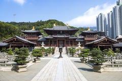 Chinese Temple in Hongkong Stock Photos