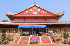 Chinese Temple. In Kanchanaburi, Thailand Stock Photos