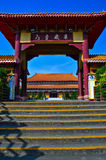 Chinese temple. In Kaohsiung, Taiwan Stock Image