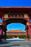 Chinese temple. In Kaohsiung, Taiwan Stock Photography