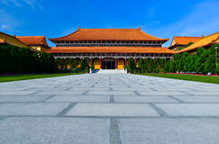 Chinese temple. In Kaohsiung, Taiwan Royalty Free Stock Photography