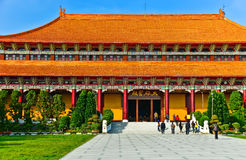 Chinese temple in Kaohsiung, Taiwan. stock photos