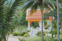 Chinese temple in Kho Samui Royalty Free Stock Photos