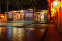 Chinese temple in Kinmen, Taiwan Royalty Free Stock Images