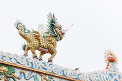 Chinese a temple Royalty Free Stock Photo