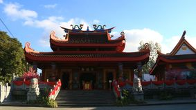 Chinese Temple Magelang. Magelang, Indonesia - December 23, 2017: Liong Hok Bio, Chinese Temple, in Magelang, Central Java. Built in 1864 by Kapitein Be Koen Wie royalty free stock photos