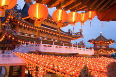Chinese temple in malaysia Stock Images