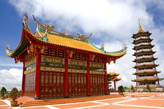 Chinese Temple and Pagoda Royalty Free Stock Images