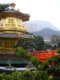 Chinese Temple Pagoda - Hong Kong China Stock Photography