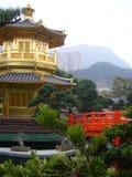 Chinese Temple Pagoda - Hong Kong China Stock Photography