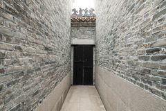 Chinese temple pathway Stock Images