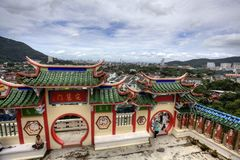 Chinese Temple in Penang Royalty Free Stock Images