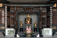 Chinese temple at penang. In georgetown Stock Images