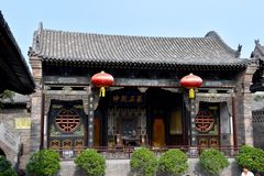 Chinese Temple at Pingyao Ancient City, China. Asia stock photography