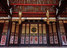 Chinese Temple, Pulau Pinang Royalty Free Stock Photos