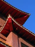 Chinese Temple Roof Royalty Free Stock Photo