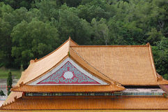 Chinese temple roof Stock Image
