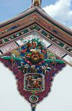 Chinese temple rooftop. In Melaka Malaysia Royalty Free Stock Photo