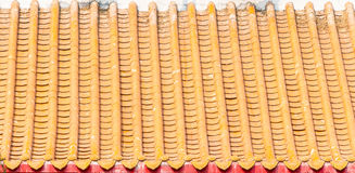 Chinese Temple's roof Stock Images