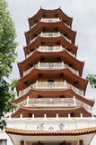 Chinese Temple - Seven Level Pagoda Royalty Free Stock Photography