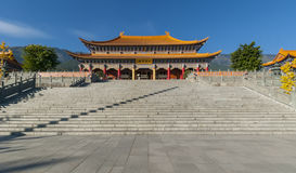 Chinese temple (Shangrila) Royalty Free Stock Photo