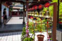 A chinese temple in Singapore royalty free stock images