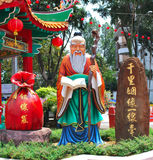 Chinese temple statue Stock Photo