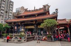 A Chinese temple in Taipei, Taiwan Stock Image